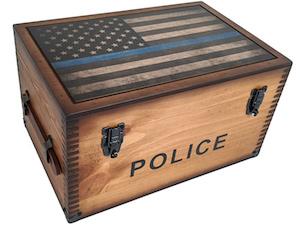 keepsake box for cops