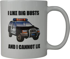 big busts coffee mug