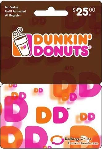 dunkin donuts gift cards for cops