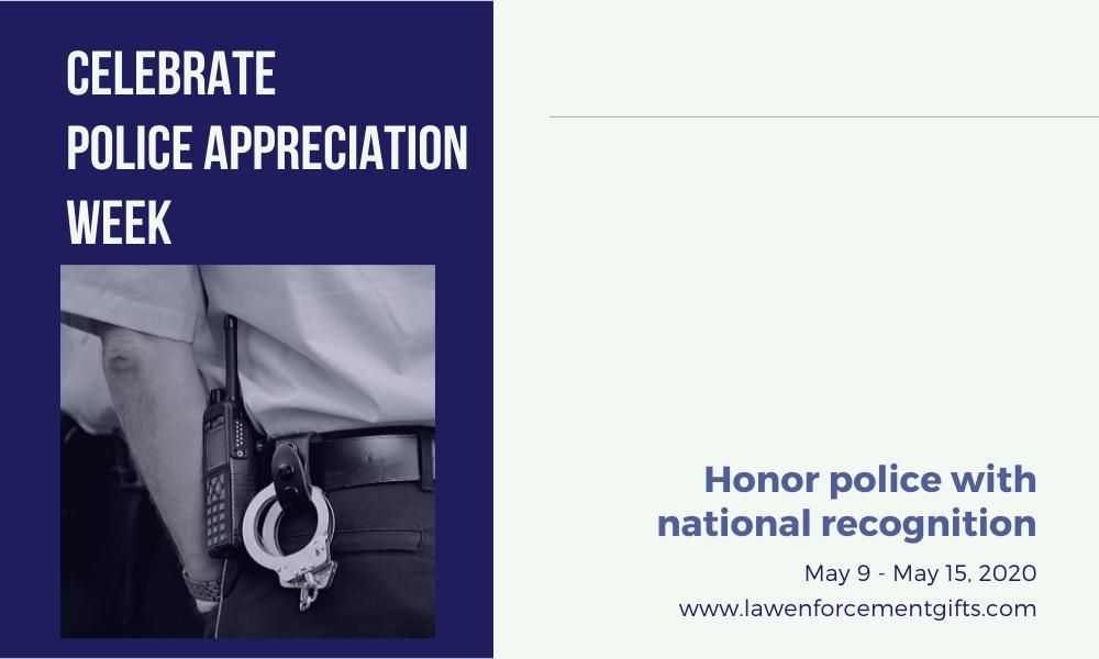 police appreciation week 2020