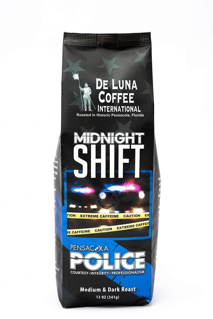 police coffee beans