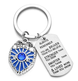 keychain for cops