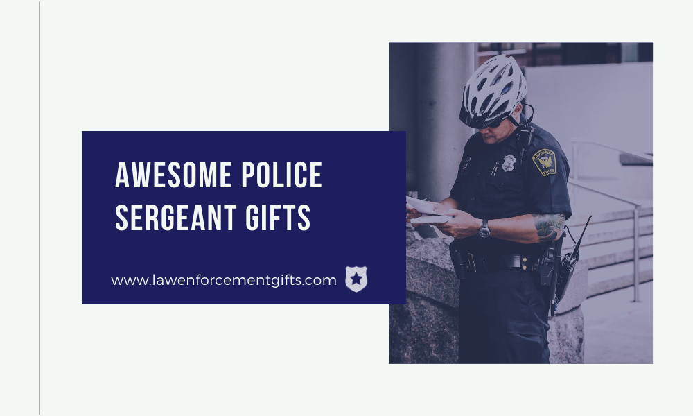 police sergeant promotion gift ideas