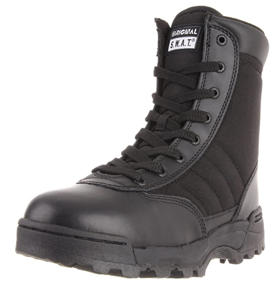 swat boots for cops