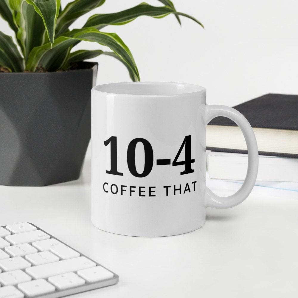 10-4 coffee that police mug for cops