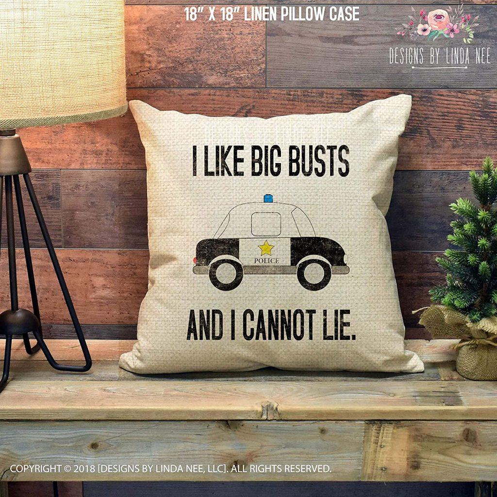 big busts pillow