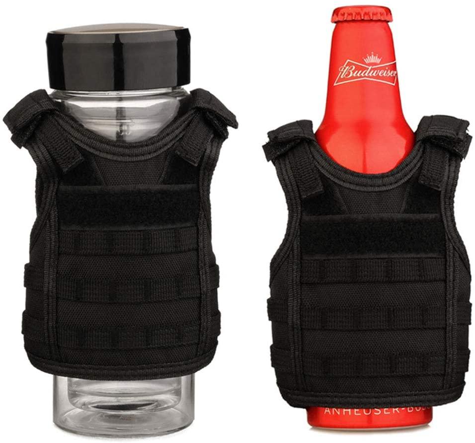 beer koozie police vest
