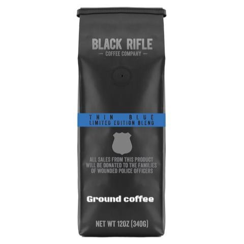 thin blue line coffee for cops
