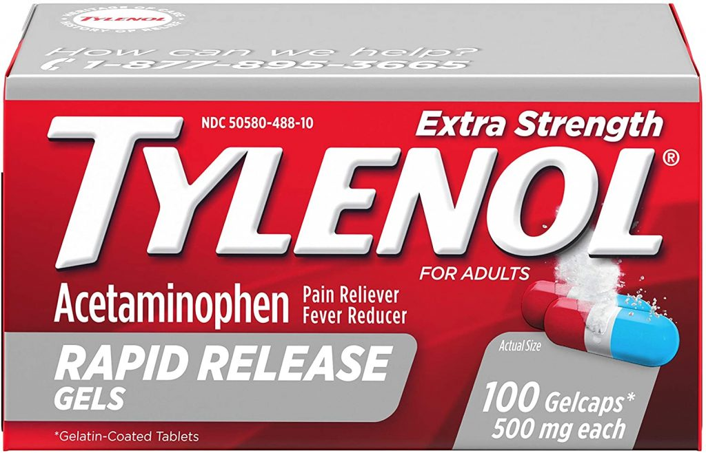 tylenol gift basket for cops