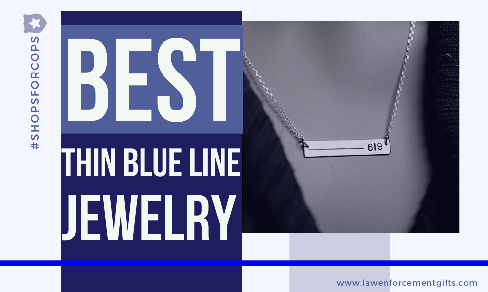 best thin blue line jewelry