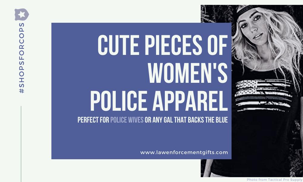 thin blue line womens apparel