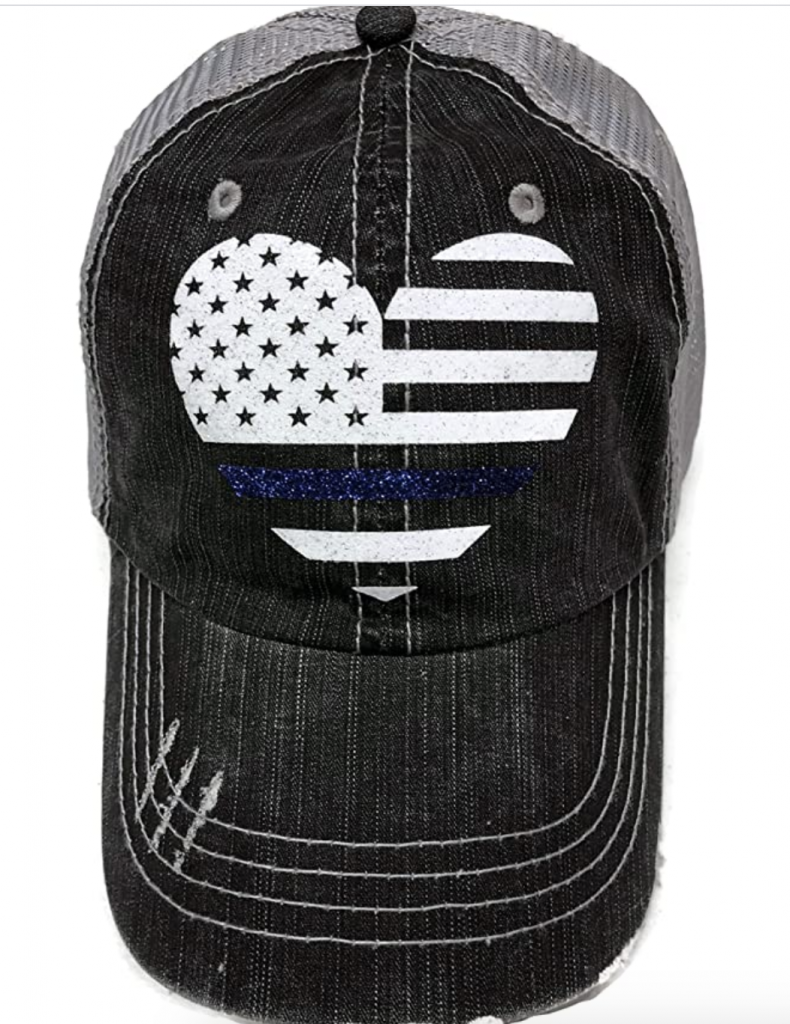 womens trucker hat police