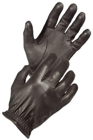 Hatch FM2000 Friskmaster All-Leather, Cut-Resistant Police Duty Glove - Black