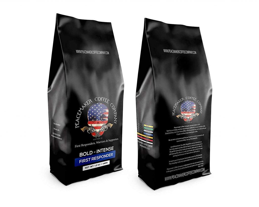 Peacemaker Coffee Company | Medium Roast | Ground 12 oz Premium Gourmet Coffee