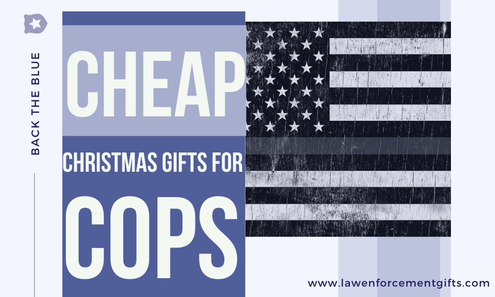 cheap christmas gifts for cops