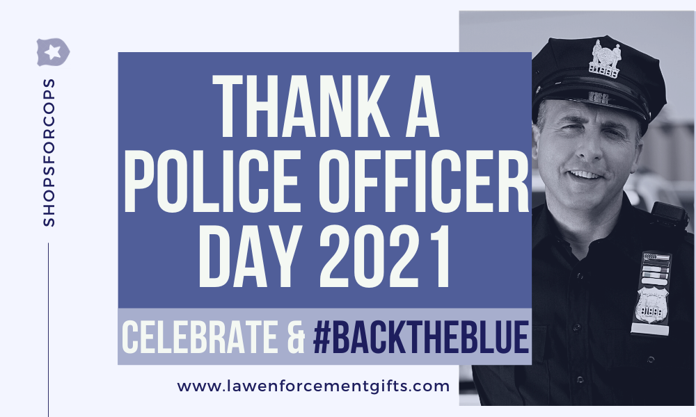 thank a police officer day 2021