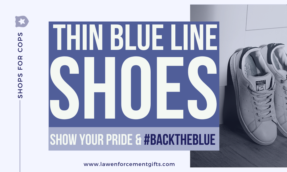 best thin blue line shoes for men and women
